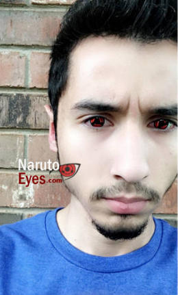 kakashi sharingan contacts