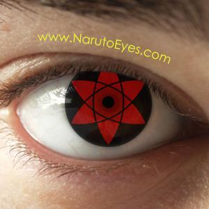 Sasuke Mangekyou Sharingan Contacts Naruto Eyes