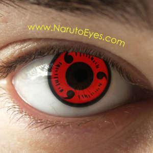 Sharingan Contacts Naruto Eyes